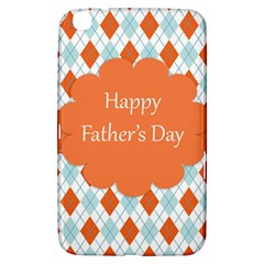Happy Father Day  Samsung Galaxy Tab 3 (8 ) T3100 Hardshell Case  by Simbadda