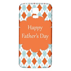 Happy Father Day  Samsung Galaxy S5 Back Case (white) by Simbadda