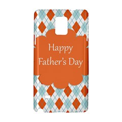 Happy Father Day  Samsung Galaxy Note 4 Hardshell Case by Simbadda
