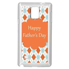 Happy Father Day  Samsung Galaxy Note 4 Case (white)
