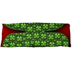 Shamrock Irish Ireland Clover Day Body Pillow Case (dakimakura) by Simbadda