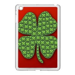 Shamrock Irish Ireland Clover Day Apple Ipad Mini Case (white) by Simbadda