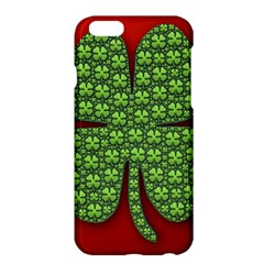 Shamrock Irish Ireland Clover Day Apple Iphone 6 Plus/6s Plus Hardshell Case