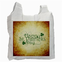 Irish St Patrick S Day Ireland Recycle Bag (one Side) by Simbadda