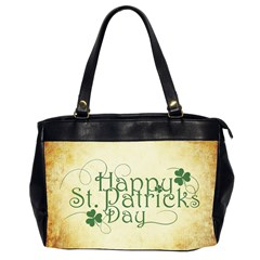 Irish St Patrick S Day Ireland Office Handbags (2 Sides)