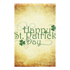 Irish St Patrick S Day Ireland Shower Curtain 48  X 72  (small)  by Simbadda