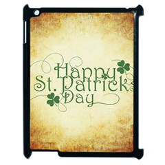 Irish St Patrick S Day Ireland Apple Ipad 2 Case (black)