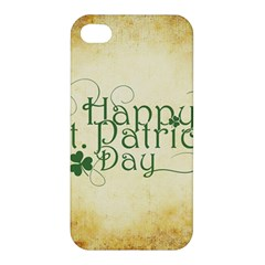 Irish St Patrick S Day Ireland Apple Iphone 4/4s Hardshell Case by Simbadda