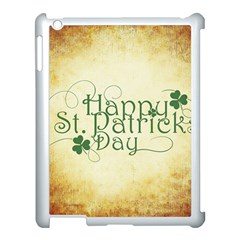 Irish St Patrick S Day Ireland Apple Ipad 3/4 Case (white) by Simbadda