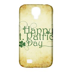 Irish St Patrick S Day Ireland Samsung Galaxy S4 Classic Hardshell Case (pc+silicone) by Simbadda