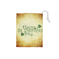 Irish St Patrick S Day Ireland Drawstring Pouches (small)  by Simbadda