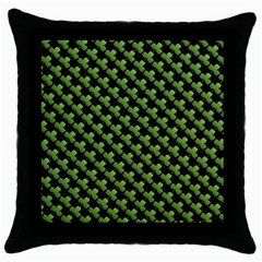 St Patrick S Day Background Throw Pillow Case (black)