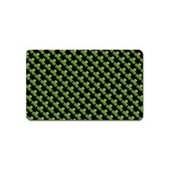 St Patrick S Day Background Magnet (name Card)