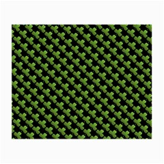 St Patrick S Day Background Small Glasses Cloth (2-side) by Simbadda