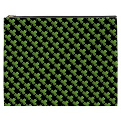 St Patrick S Day Background Cosmetic Bag (xxxl)  by Simbadda