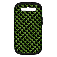 St Patrick S Day Background Samsung Galaxy S Iii Hardshell Case (pc+silicone) by Simbadda