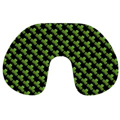 St Patrick S Day Background Travel Neck Pillows by Simbadda