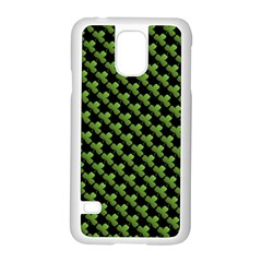 St Patrick S Day Background Samsung Galaxy S5 Case (white) by Simbadda