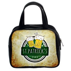Irish St Patrick S Day Ireland Beer Classic Handbags (2 Sides) by Simbadda