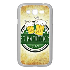 Irish St Patrick S Day Ireland Beer Samsung Galaxy Grand Duos I9082 Case (white) by Simbadda