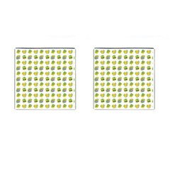 St Patrick S Day Background Symbols Cufflinks (square) by Simbadda