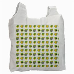 St Patrick S Day Background Symbols Recycle Bag (one Side) by Simbadda