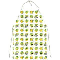 St Patrick S Day Background Symbols Full Print Aprons