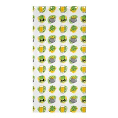 St Patrick S Day Background Symbols Shower Curtain 36  X 72  (stall)  by Simbadda