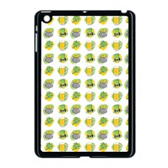 St Patrick S Day Background Symbols Apple Ipad Mini Case (black) by Simbadda