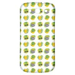 St Patrick S Day Background Symbols Samsung Galaxy S3 S Iii Classic Hardshell Back Case by Simbadda