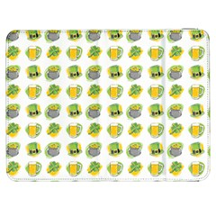 St Patrick S Day Background Symbols Samsung Galaxy Tab 7  P1000 Flip Case by Simbadda
