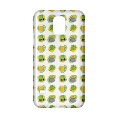 St Patrick S Day Background Symbols Samsung Galaxy S5 Hardshell Case  by Simbadda