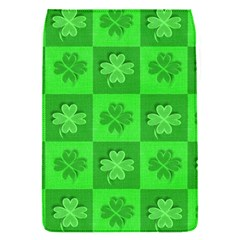 Fabric Shamrocks Clovers Flap Covers (s)  by Simbadda