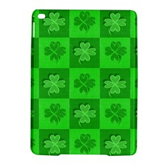 Fabric Shamrocks Clovers Ipad Air 2 Hardshell Cases by Simbadda