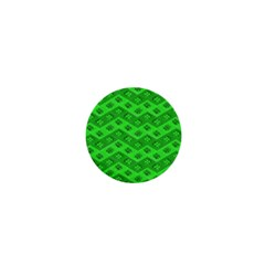 Shamrocks 3d Fabric 4 Leaf Clover 1  Mini Buttons by Simbadda