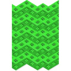 Shamrocks 3d Fabric 4 Leaf Clover 5 5  X 8 5  Notebooks by Simbadda