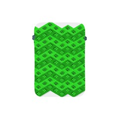 Shamrocks 3d Fabric 4 Leaf Clover Apple Ipad Mini Protective Soft Cases by Simbadda