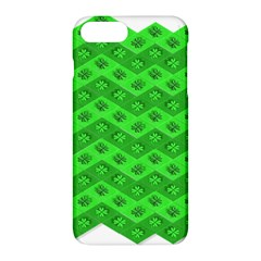 Shamrocks 3d Fabric 4 Leaf Clover Apple Iphone 7 Plus Hardshell Case by Simbadda