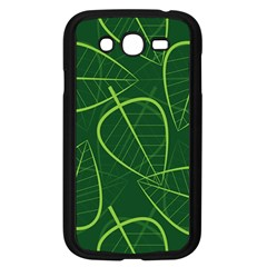 Vector Seamless Green Leaf Pattern Samsung Galaxy Grand Duos I9082 Case (black) by Simbadda