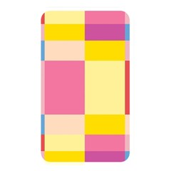 Colorful Squares Background Memory Card Reader