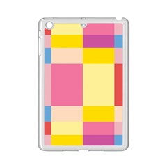 Colorful Squares Background Ipad Mini 2 Enamel Coated Cases
