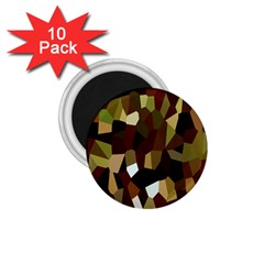 Crystallize Background 1 75  Magnets (10 Pack)  by Simbadda