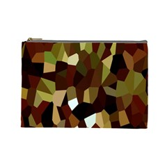 Crystallize Background Cosmetic Bag (large)