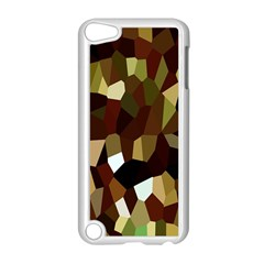 Crystallize Background Apple Ipod Touch 5 Case (white) by Simbadda
