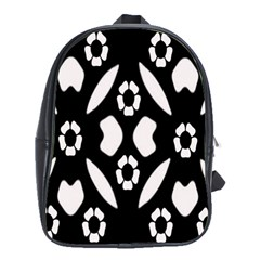 Abstract Background Pattern School Bags(large)  by Simbadda