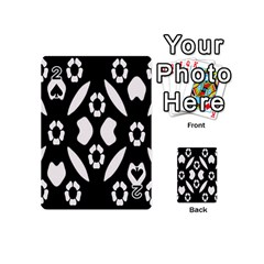 Abstract Background Pattern Playing Cards 54 (mini)  by Simbadda