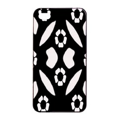 Abstract Background Pattern Apple Iphone 4/4s Seamless Case (black) by Simbadda