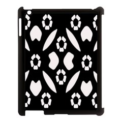 Abstract Background Pattern Apple Ipad 3/4 Case (black) by Simbadda