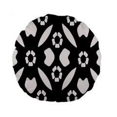 Abstract Background Pattern Standard 15  Premium Round Cushions