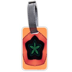 Fractal Flower Luggage Tags (One Side)